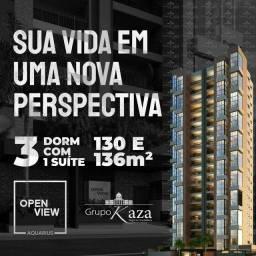 Open view apartamentos de 130 e 136 metros quadrados