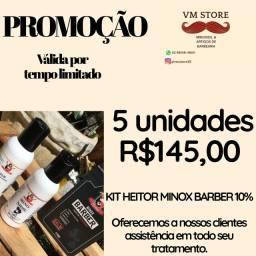 5 UNIDADES KIT HEITOR r$145,00