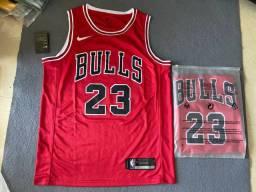 Camisa Nike NBA Chicago bulls Vermelha M-G