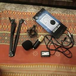 Bm 800 + interface de áudio.