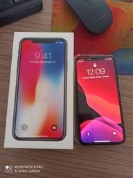 Iphone x 256gb impecavel