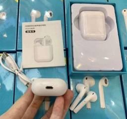Airpods Fone De Ouvido Bluetooth i11 Tws Sem Fio Versão Touch 5.0 Novo Branco