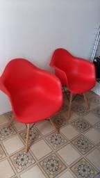 Cadeiras vermelhas!!