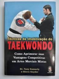 Livro Técnicas de Imobilização do Taekwondo