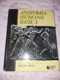 Livro Anatomia Humana Básica (Usado)