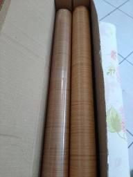 Papel con-tact cor cerejeira 10 m