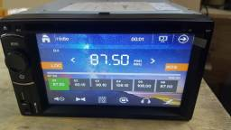 Som Automotivo 2Din Dvd Player Dazz DZ-5221-6 - USB / DVD / CD / Bluetooh / Tv Digital