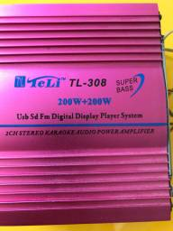 Player Digital System USB SD FM
