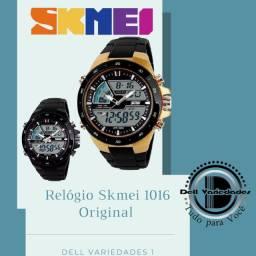 Relógio Skmei 1016 Original a Prova D'água. Produto Novo. Dell Variedades