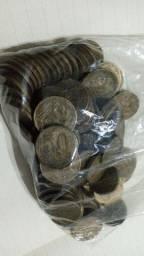 Lote moedas amarelas - aliança
