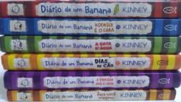 DIÁRIO DE UM BANANA 6 LIVROS