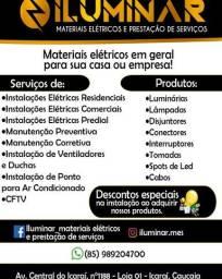 Manutenção Elétrica e Iluminação