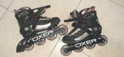 Roller patins marca oxer tamanho 37 usado umas 3 ou 4 vezes no máximo