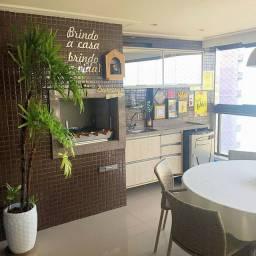 03 Suites Vista Mar Varanda Gourmet! Perfeito