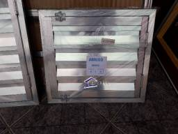 Portinhola Abrigo Alçapão de aluminio 45x50cm