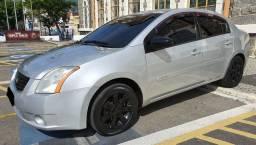 Nissan Sentra S 2.0 gnv 5°geração Mecânico Completo Couro Rodas Mídia Tv