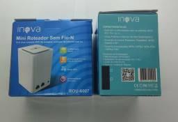 Roteador E Repetidor Mini Sem Fio-n Wi-fi Inova Rou-6007