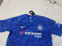 Camisa Chelsea I 19/20 Tamanho G