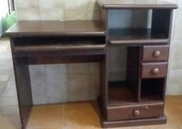 Mesa de madeira comutador escritório e bancada de trabalho
