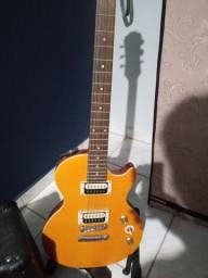 Guitarra les paul epiphone slash signature + amplificador meteoro 15w