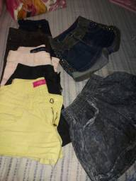 Lote de shorts 34