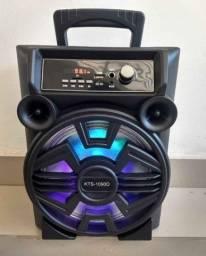 Caixa De Som Portátil Recarregável Bluetooth KTS 1090