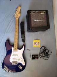 Guitarra austin stratocaster