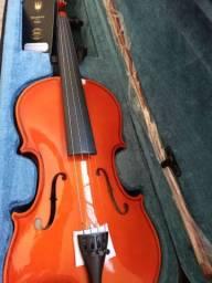 Violino Janhke Zerado Oportunidade!