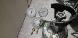 Cilindro CO² (vazio) + manômetro