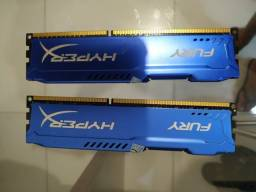 2 Memórias 8+4 GB , 1600hz. DDR3 PC