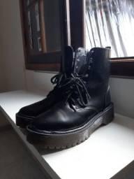 Boot (coturno) Preto 39 seminovo