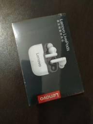 Fone de ouvido tws Lenovo LP1 bluetooth 5.0 com caixa de carregamento sem fio