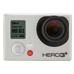 Gopro hero 3 câmera 4k 15fps preto super hd à prova d'água + acessórios
