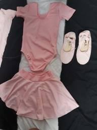 Conjunto de Balé Rosa