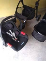 Carrinho  de bebe burigotto+bebe conforto, em otimo estado
