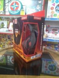 Headset Gamer USB c/ microfone<br><br>