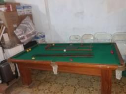 Vendo mesa de sinuca completa