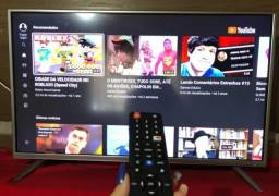 Tv smart 43 Semp Toshiba, tem pé controle, só venda