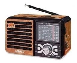 Título do anúncio: Rádio AM/FM, Pendrive, Cartão de memória