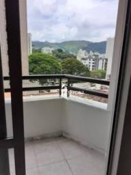 Apartamento com 3 quartos para alugar, 97 m² por R$ 1.200/mês - Boa Vista - Juiz de Fora/M