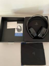 Headset sony platinum ps4