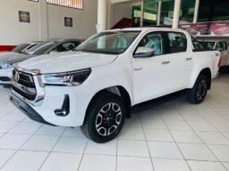 Título do anúncio: Hilux SRX 4x4 Diesel - Branco Polar - A pronta entrega