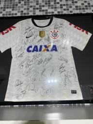 Camisa Autografada Corinthians