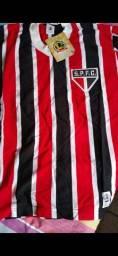 Camisa Histórica do São Paulo 1981 tamP<br><br>