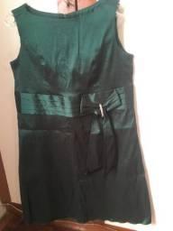 Vestido verde de festa/social