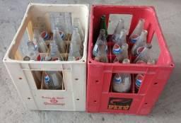 Caixa de Vasilhame de Pepsi 1L