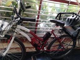 Bicicleta  para trabalho e lazer