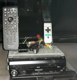 """DVD Pioneer automotivo """"retirada de peças"""""""