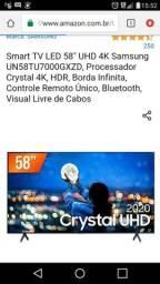 Tv Samsung 4k tela de cristal