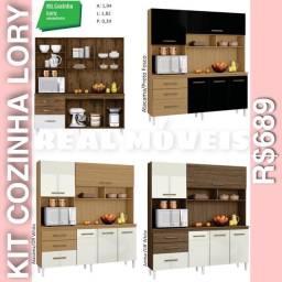 Armário de cozinha lory armário de cozinha kit Lory 9901192